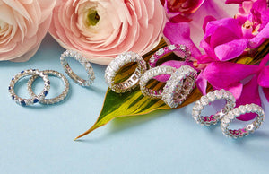 Spring Jewelry: Mother's Rings & Baby Shoe Charms