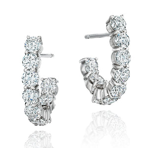 luxury women's diamond earrings