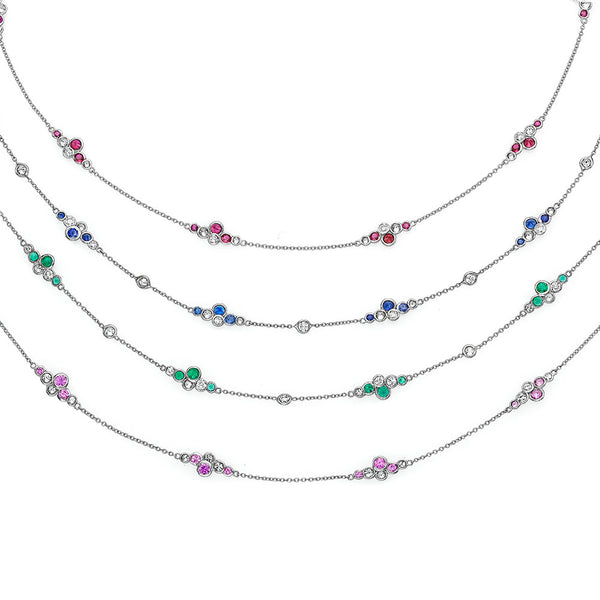 luxury women's platinum necklaces for sale online