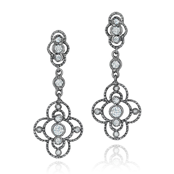 Image of Sillhouette Midnight Earrings