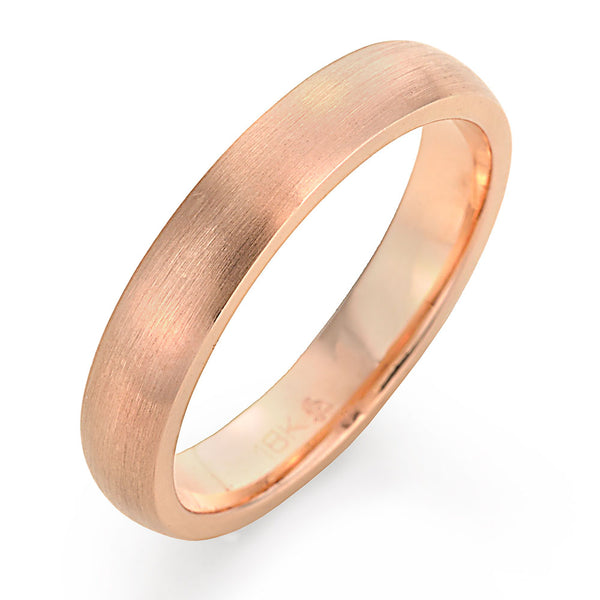 men's rose gold wedding ring
