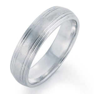 Beautiful Platinum Wedding Band