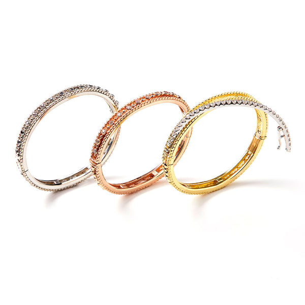 Image of Three CazzuLLe Bracelet Collection with Interchangable Centers