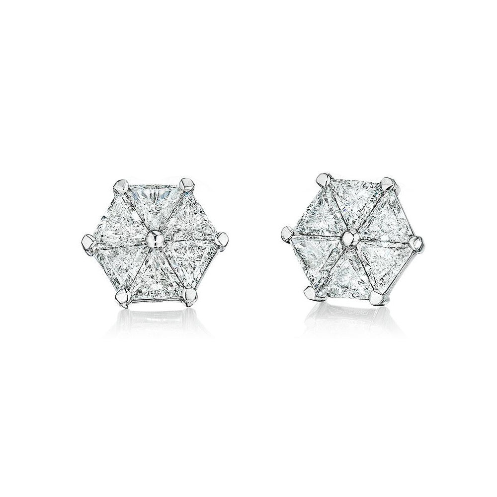 VoiLLa™ Trilliant Diamond Earrings