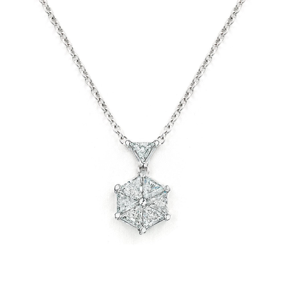 VoiLLa™ Trilliant Diamond Necklace