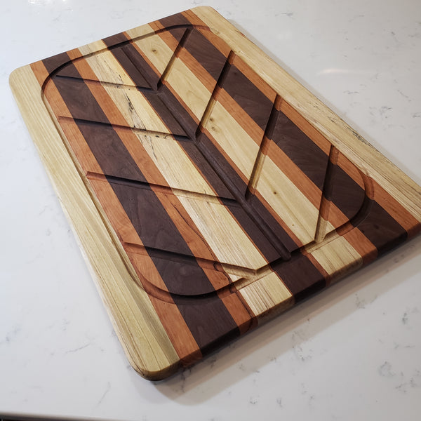 HUGE custom butcher block cutting board