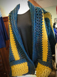Pocketed Crocheted Wrap