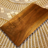 Walnut serving board