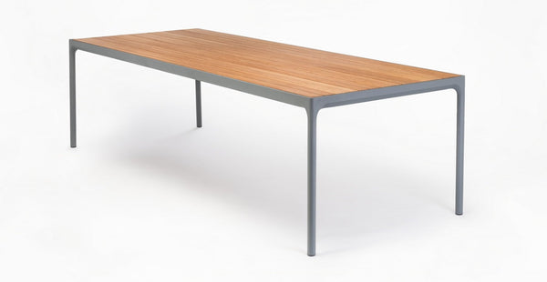BAMBOO FOUR DINING TABLE ZWART XXL