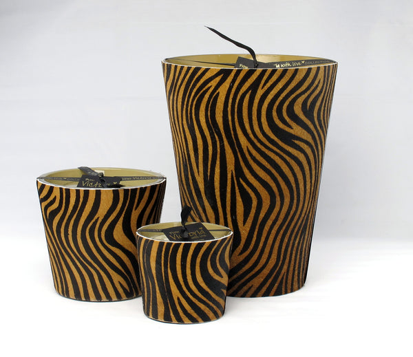 VICTORIA KAARS ZEBRA BLACK & BROWN M