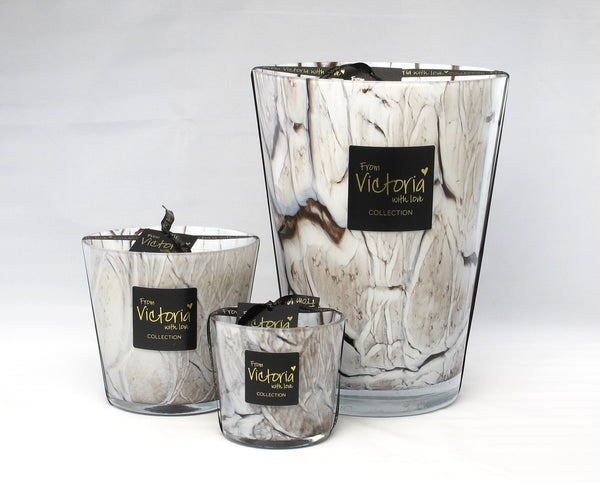 VICTORIA KAARS GLOSSY MARBLE WHITE  S