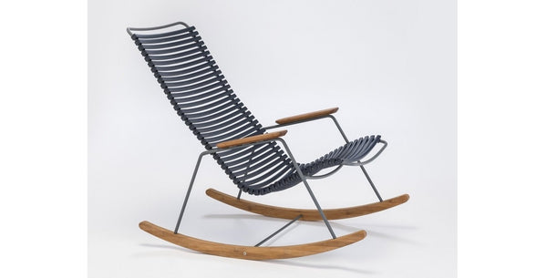 CLICK ROCKING CHAIR DARK BLUE - SCHOMMELSTOEL HOUE DARK BLUE
