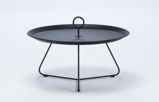 EYELET TRAY TABLE 70 ZWART