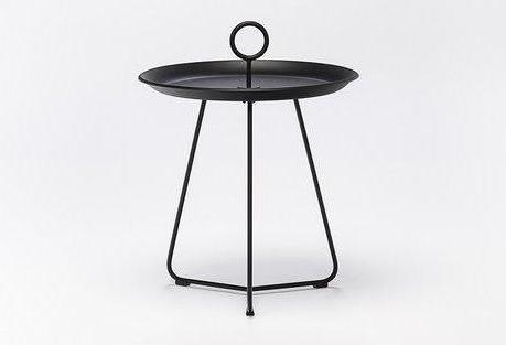 EYELET TRAY TABLE 45 ZWART