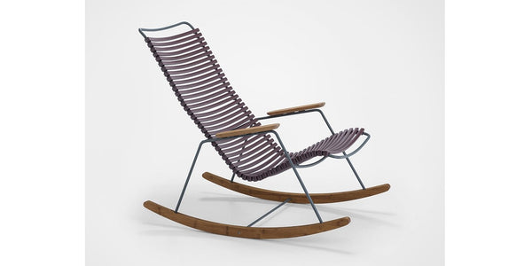 CLICK ROCKING CHAIR PLUM - SCHOMMELSTOEL HOUE PLUM