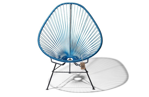 ACAPULCO CHAIR BLUE METALIC