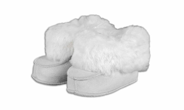 BABY PANTOFFELS LAMSVACHT ACCESSOIRE