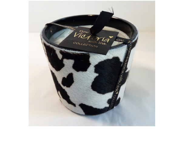 VICTORIA KAARS COW BLACK & WHITE S