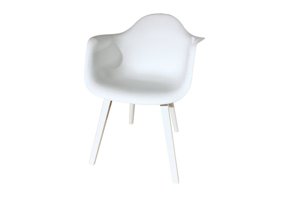 PVC-POLYPROPILENE  OUTDOOR CHAIR WHITE
