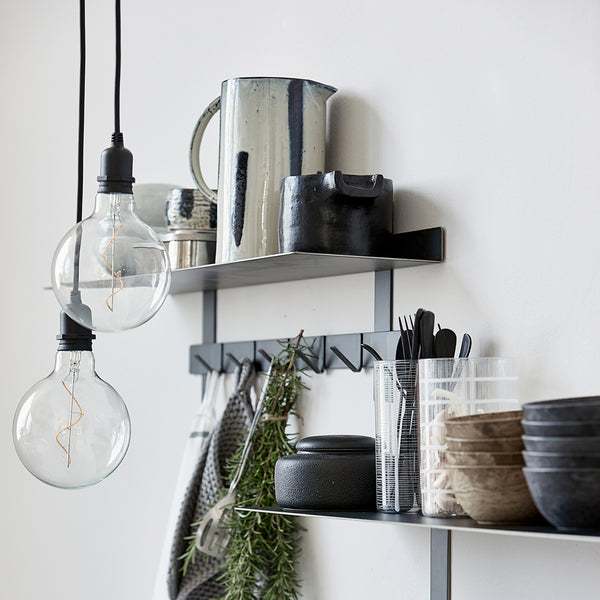 OUTDOOR LIGHTSNOER ZWART -INDOOR LICHTSNOER ZWART