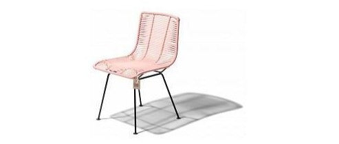 ACAPULCO DINING CHAIR ROSARITO PINK