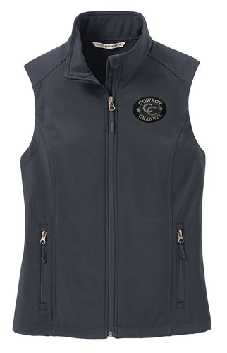 Cowboy Channel Logo Vest Women's - Gray