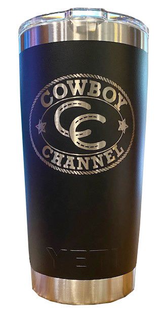 Cowboy Channel YETI 20oz Rambler