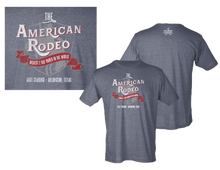 Load image into Gallery viewer, American Rodeo 2019 Arlington T-Shirt - Heather Charcoal