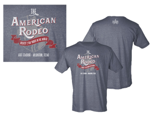American Rodeo 2019 Arlington T-Shirt - Heather Charcoal