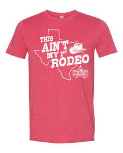 "American Rodeo 2019 ""This Ain' My First Rodeo"" T-Shirt"