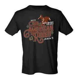 American Rodeo 2019 Vintage Rodeo T-shirt - Black