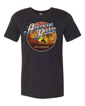 American Rodeo 2019 Sunset Event T-Shirt - Black