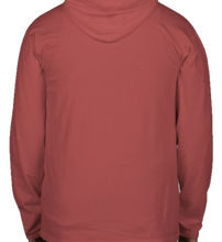 Load image into Gallery viewer, Garment Dyed Hooded Long Sleeve Comfort Colors Tee