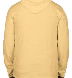 Garment Dyed Hooded Long Sleeve Comfort Colors Tee