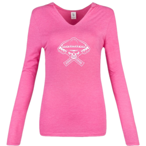 District Ladies' Perfect Tri Long Sleeve Hoodie