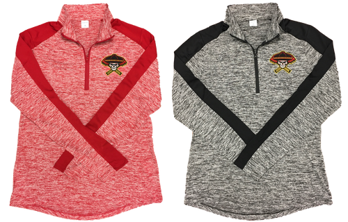 Sport-Tek Ladies PosiCharge Colorblock 1/4-Zip Pullover