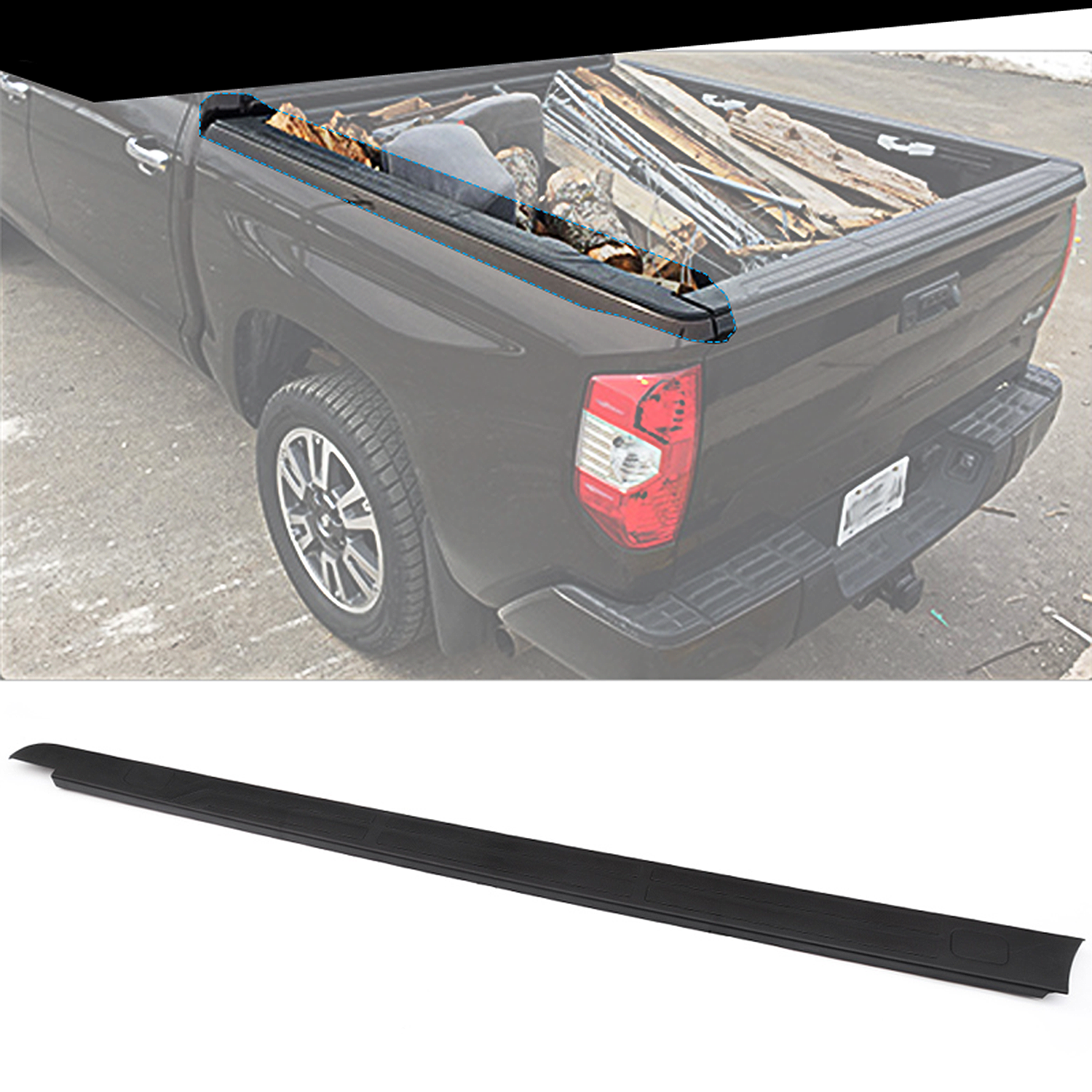 tundra toyota bed panel side trim left fender ft f150 flares cap tacoma
