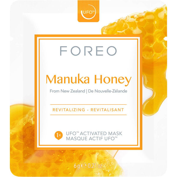 Image of FOREO Manuka Honey UFO/UFO mini mascarilla facial revitalizante para pieles envejecidas