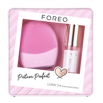 Image: Set FOREO Picture Perfect LUNA 3 + Serum Serum Serum