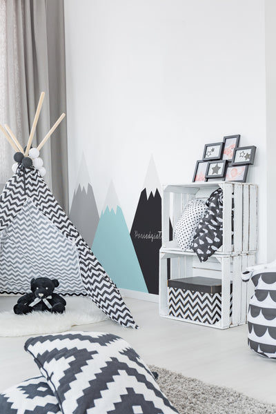 Pastel Mountains Wall Sticker