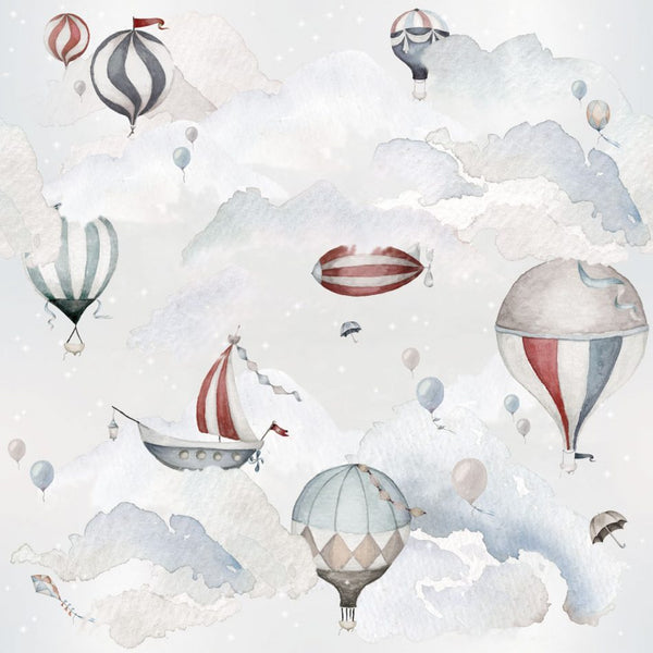 Balloons Adventure Wallpaper