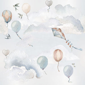 Balloons Fairytale Wallpaper