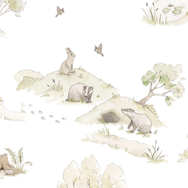 Fairytale Forest Wallpaper