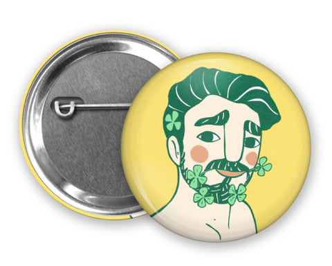 GREEN HAIR - Magiò Exclusive Special Edition - Badge Pinback Button