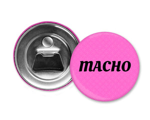MACHO - Magnet with Bottle Opener