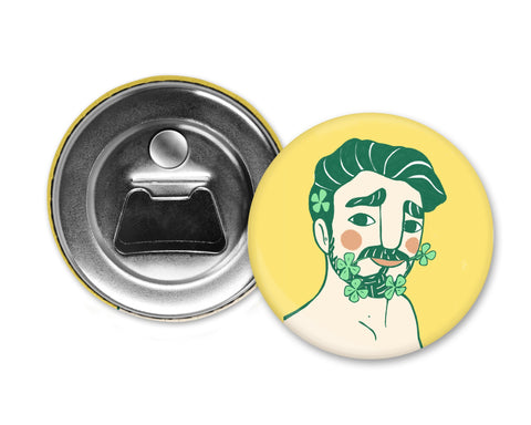 GREEN HAIR - Magiò Exclusive Special Edition - Magnet with Bottle Opener