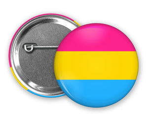 PANSEXUAL FLAG - Badge Pinback Button