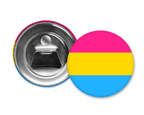 PANSEXUAL FLAG - Magnet with Bottle Opener
