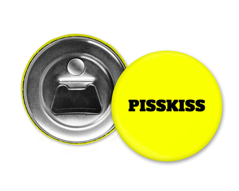 PISS KISS - Magnet with Bottle Opener