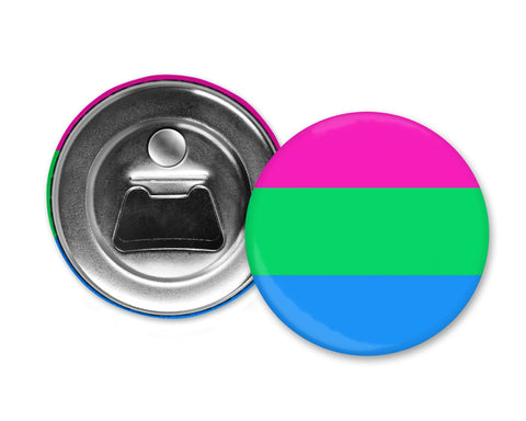 POLYSEXUAL FLAG - Magnet with Bottle Opener